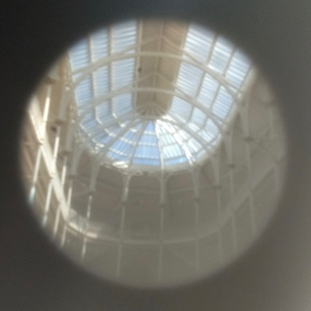 National Museum of Scotland Pinhole of Victorian Glass Roof