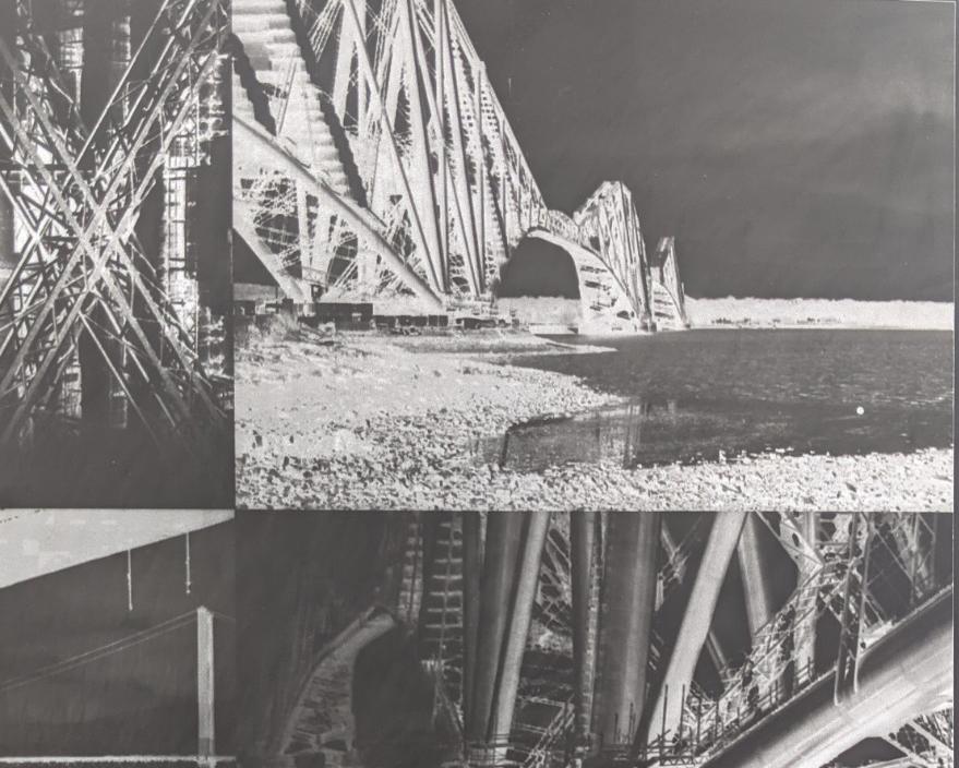 solarised bridges